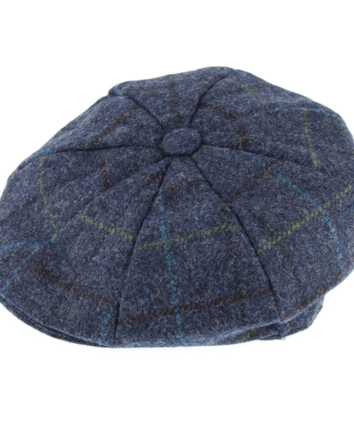 Abraham Mood Tweed 8 Piece Cap