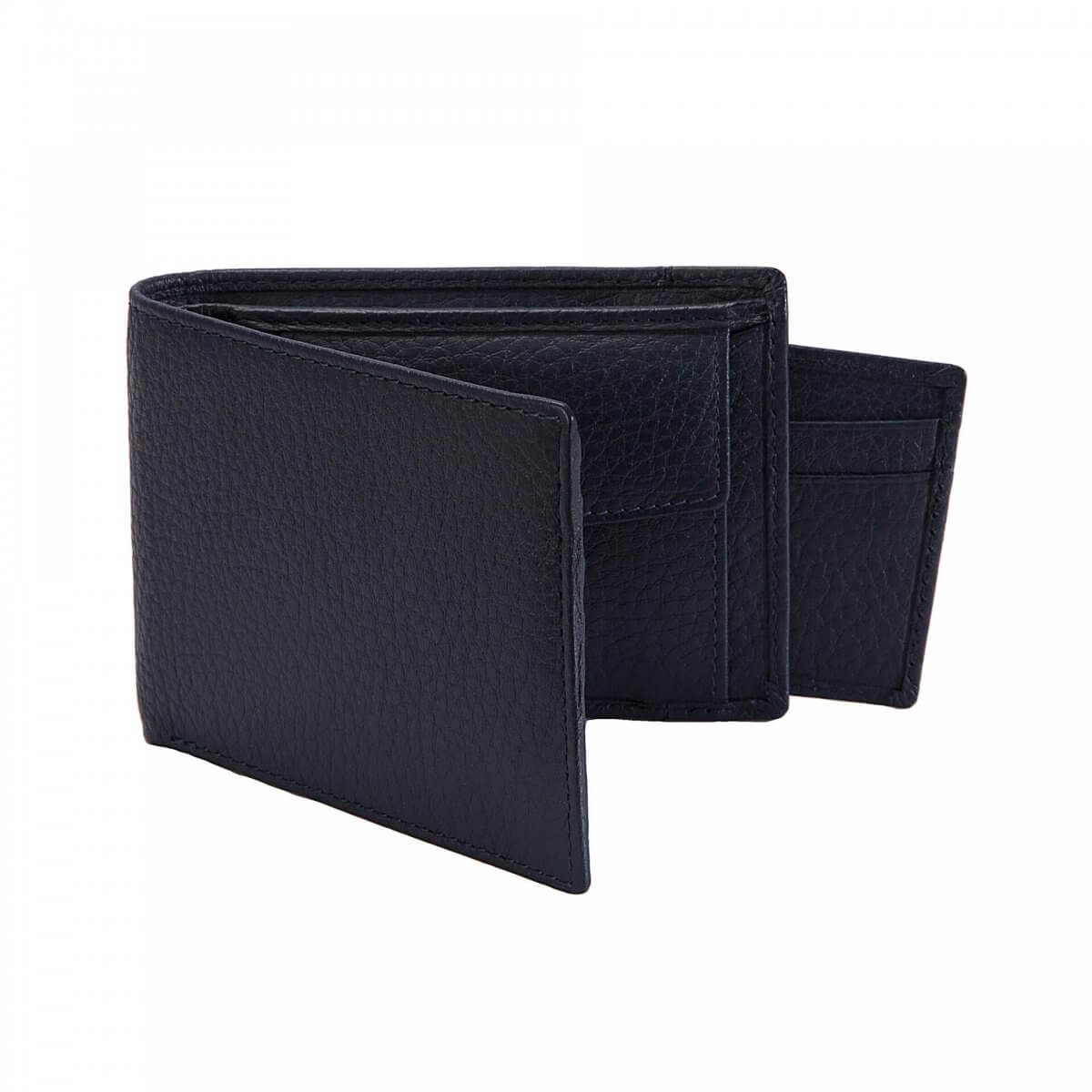 Dents Leather Wallet and Card Holder in Blue