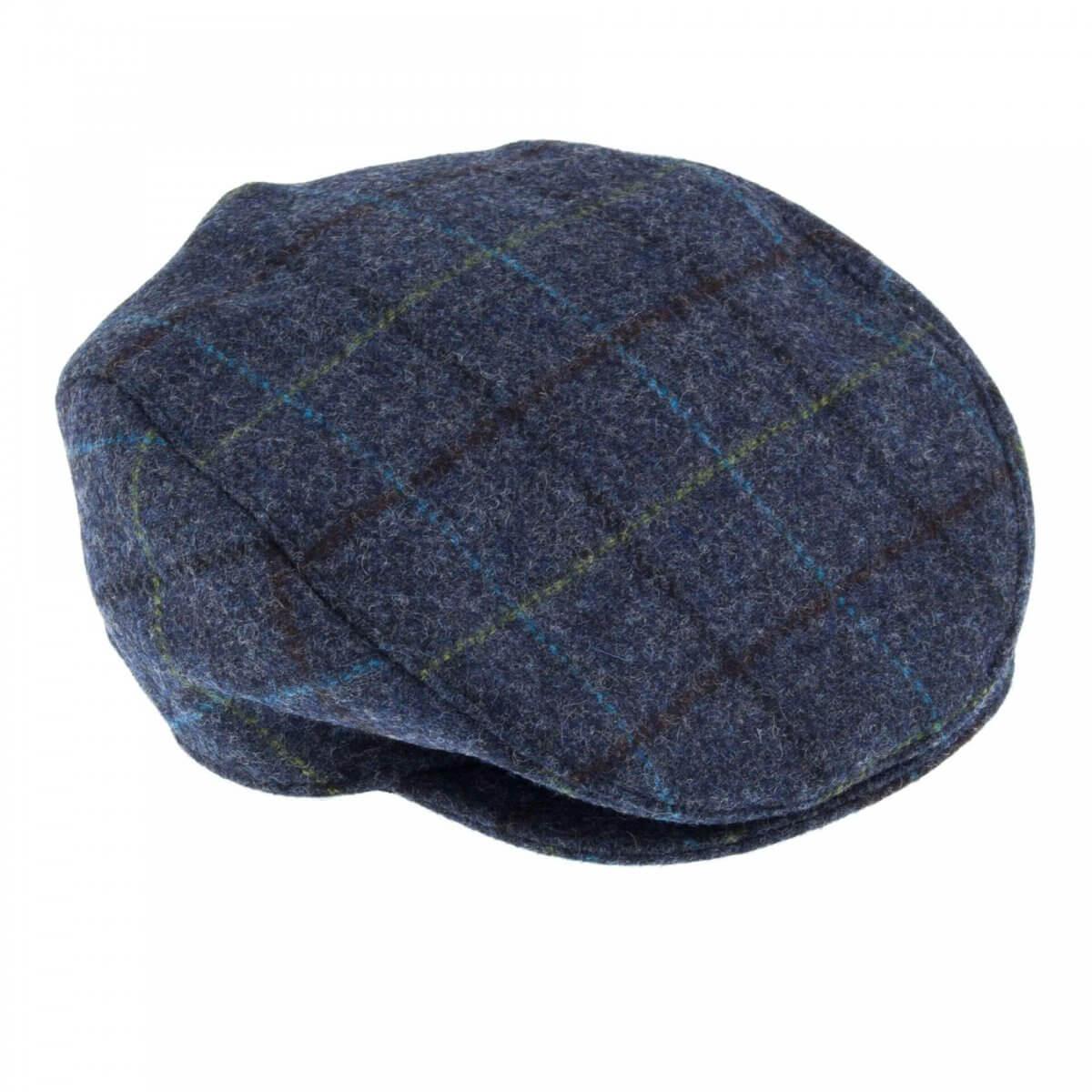 Abraham Mood Tweed Flat Cap