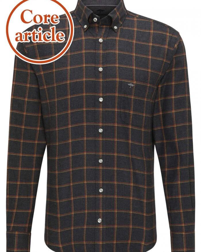 Fynch Hatton Flannel Check Shirt