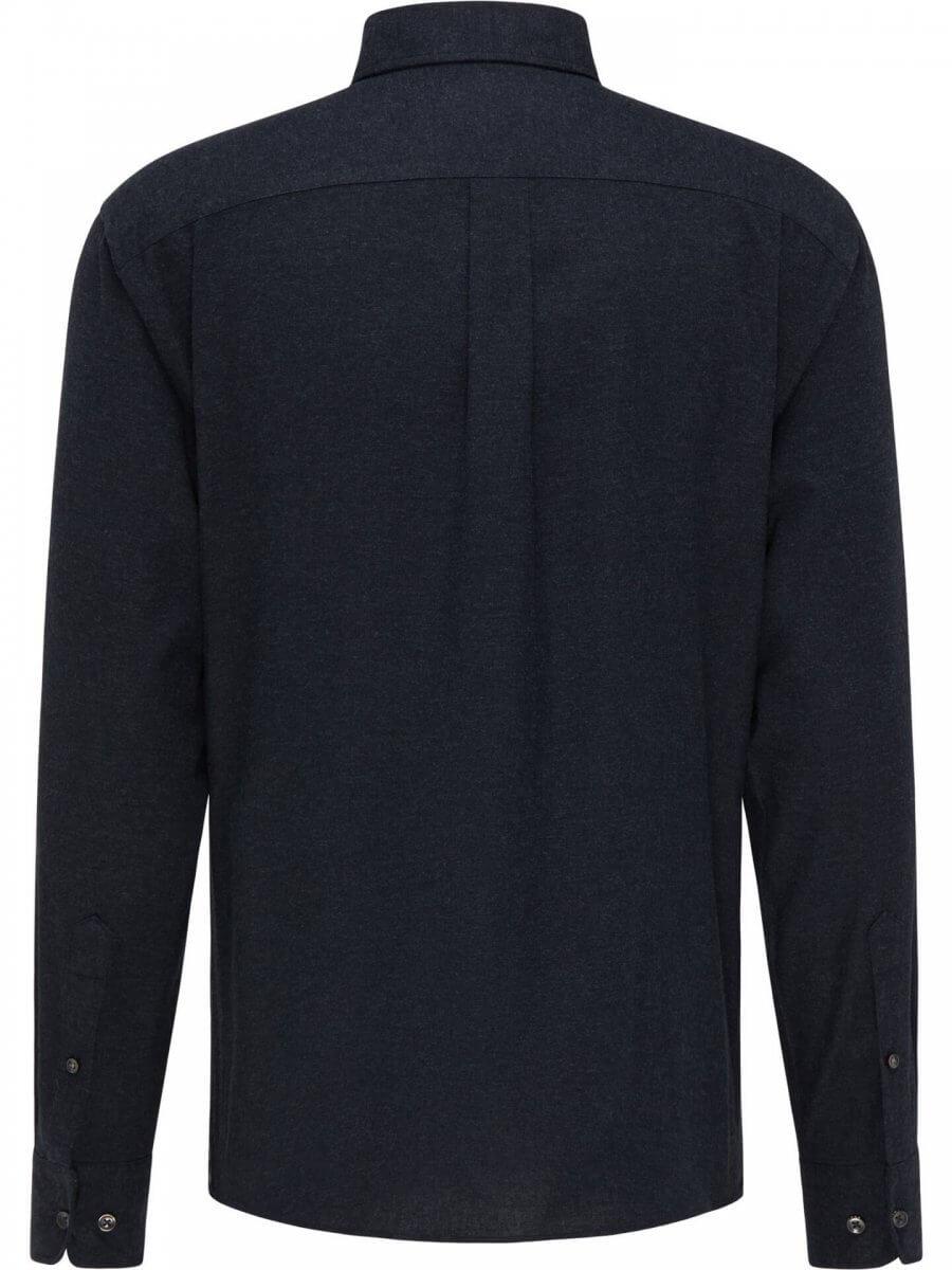 Fynch Hatton Flannel Shirt in Black