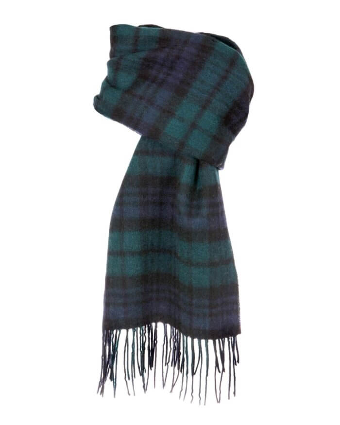 Dents Checkered Scarf