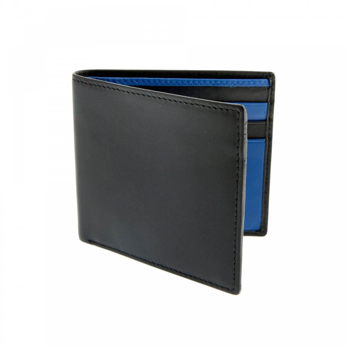 Dents Black Leather Wallet