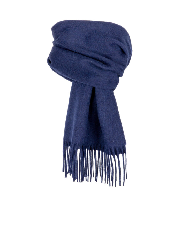 Dents Scarf in Navy