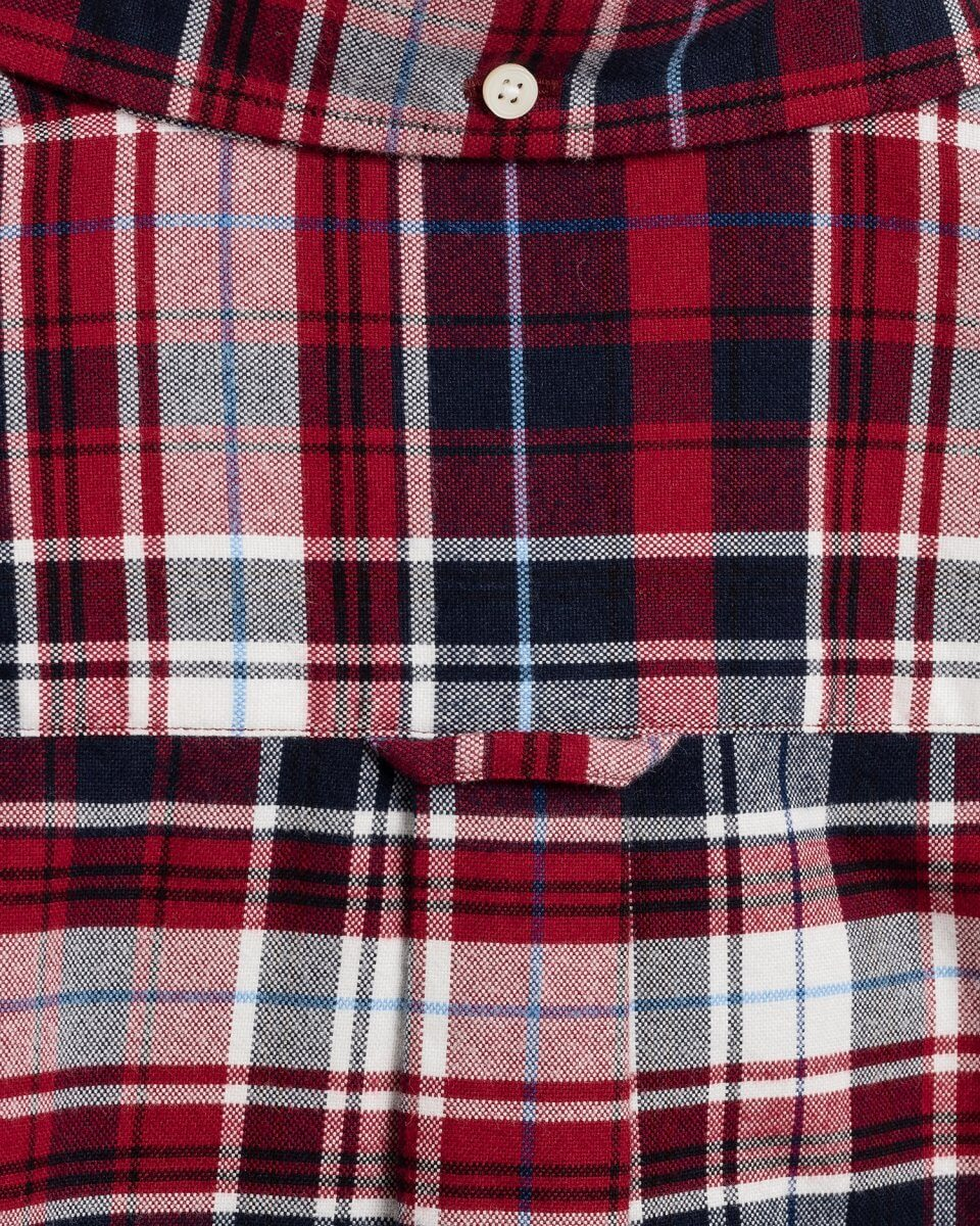 Gant Checkered Shirt in Red & White