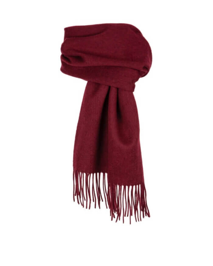 Dents Red Scarf