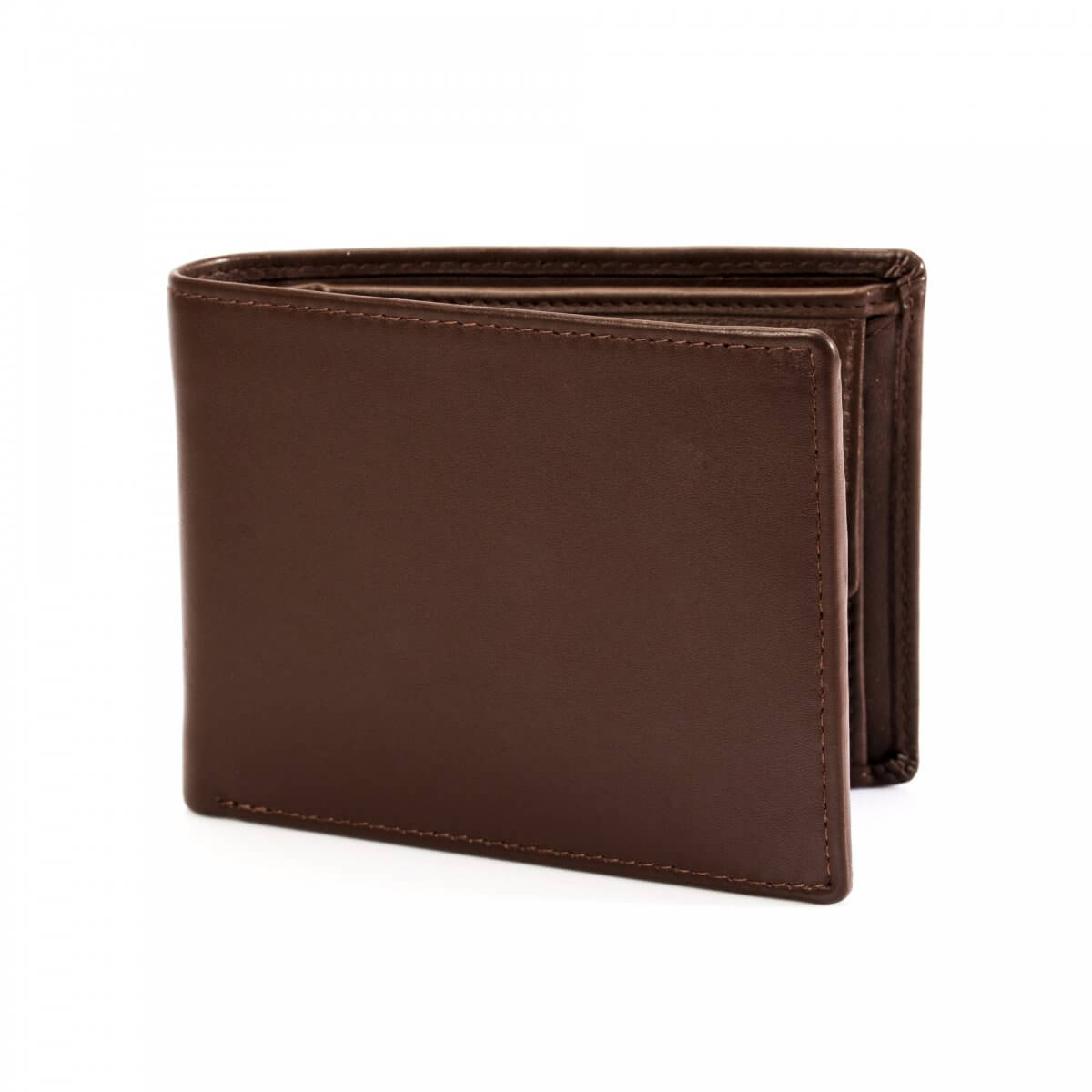 Dents Brown Leather Wallet