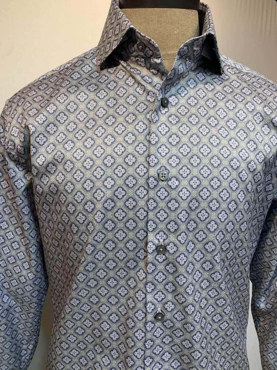 Eterna Pattern Shirt