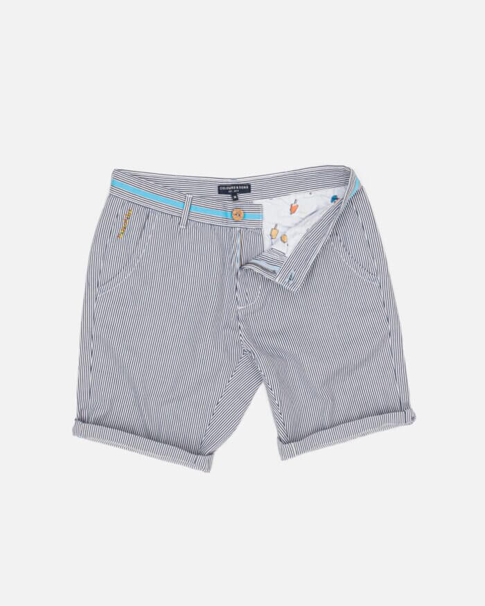 Colours & Sons Striped Shorts
