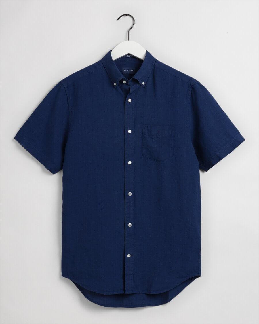 Gant Short Sleeve Linen Shirt
