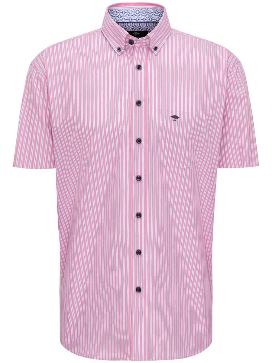 Fynch Hatton Striped Short Sleeve Shirt