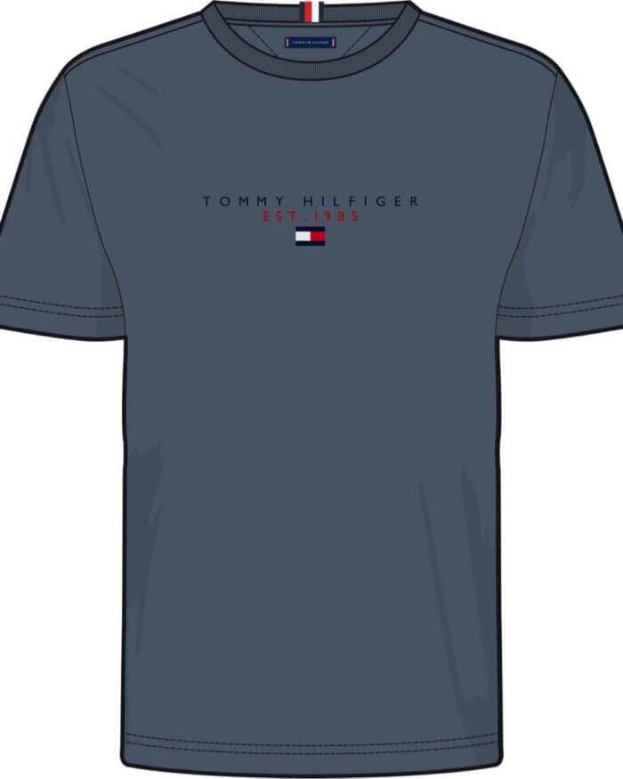 Graphic Design of Tommy Hilfiger T-Shirt