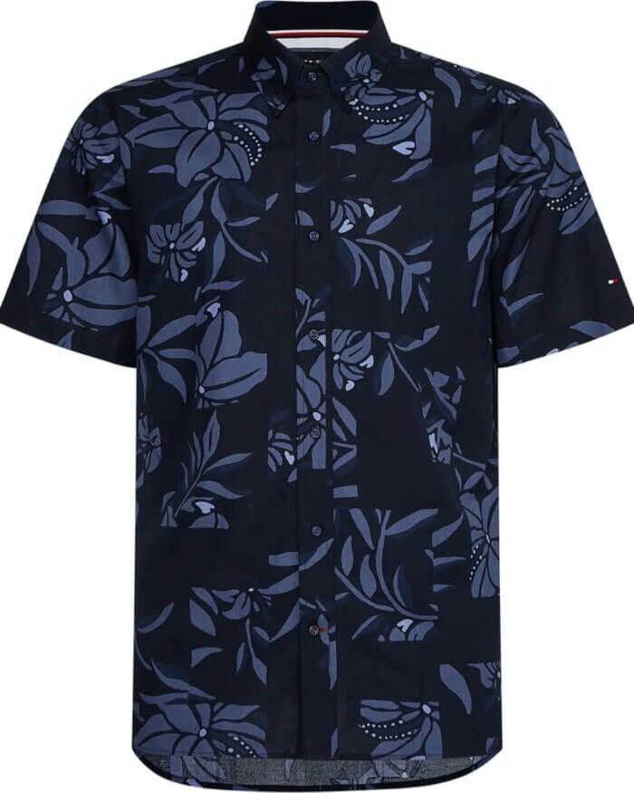Tommy Hilfiger Floral Short Sleeve Shirt