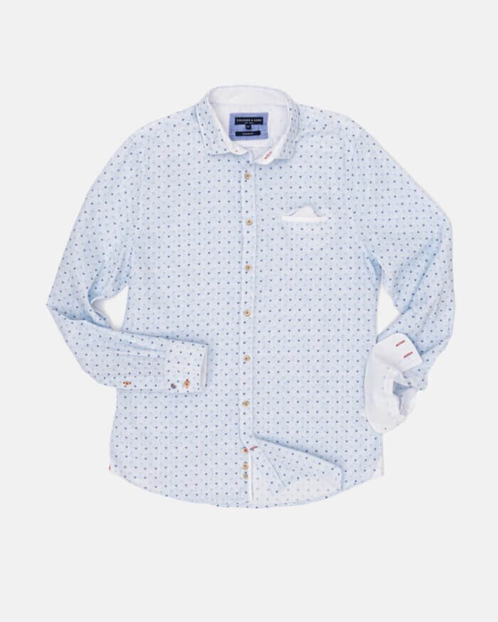 Colours & Sons Triangle Pattern Shirt