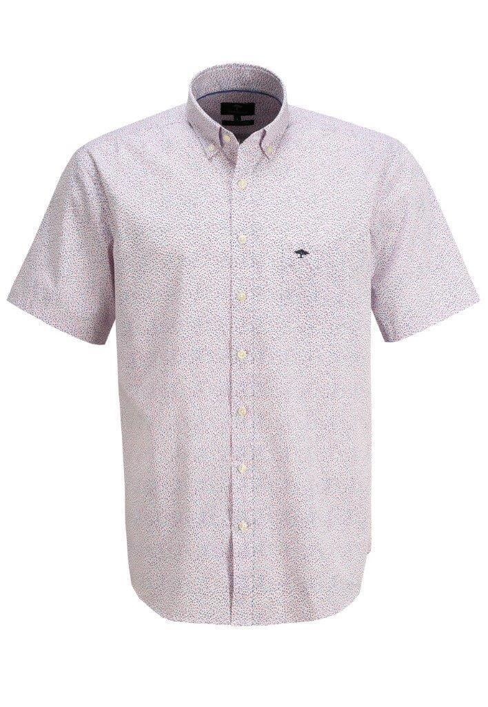 Fynch Hatton Summer Short Sleeve Shirt