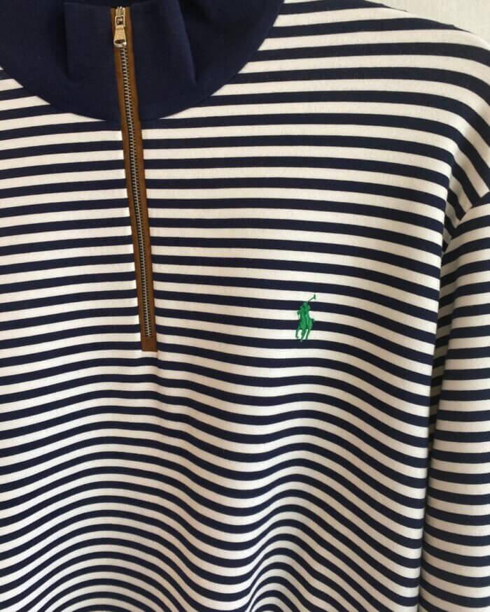 Polo Ralph Lauren Striped Quarter Zip Jumper