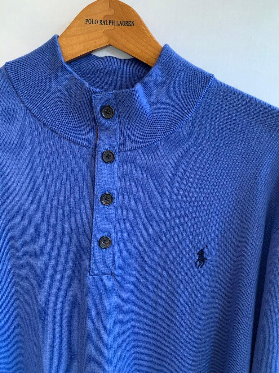 Polo Ralph Lauren Merino Button Neck Sweater