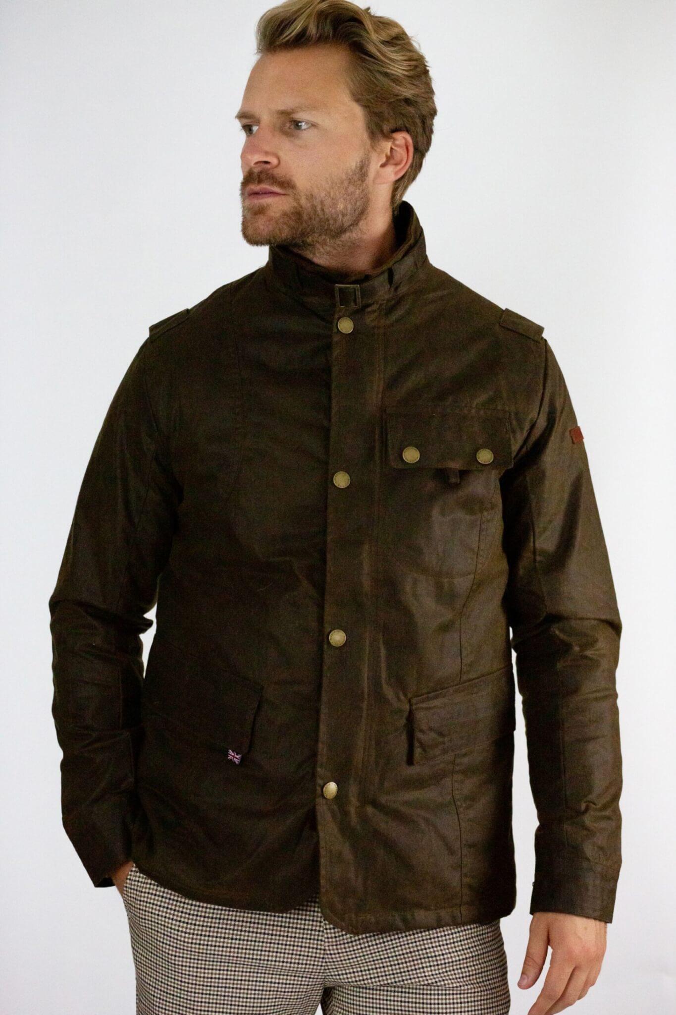 Peregrine Waxed Cotton Bexley Jacket